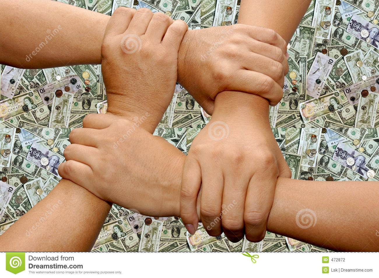 Download Hand team work stock photo. Image of white, play, four - 472872