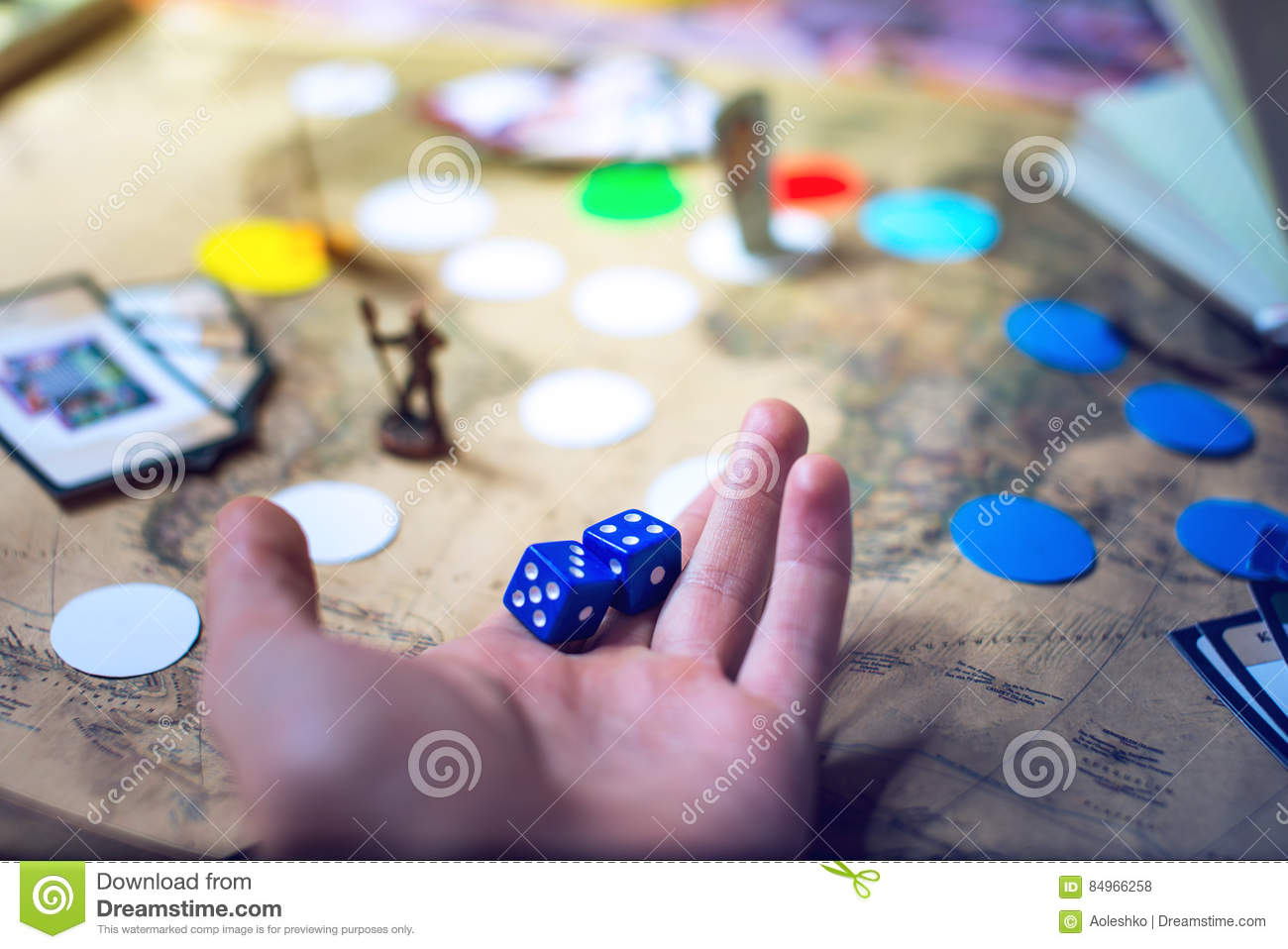 Hand throws the dice on background world map board games stock photo download comp gumiabroncs Images