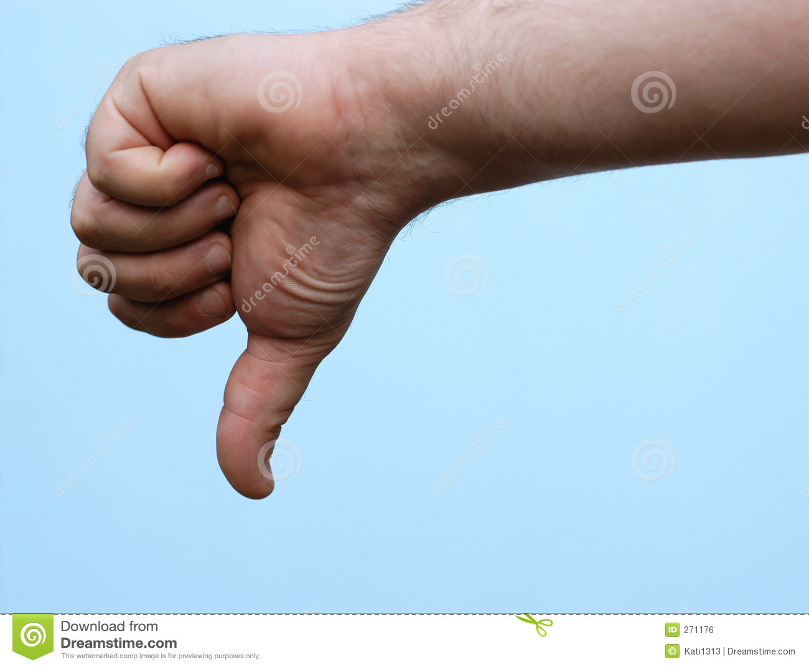 foto de Hand : Thumb Down Royalty Free Stock Image Image: 271176
