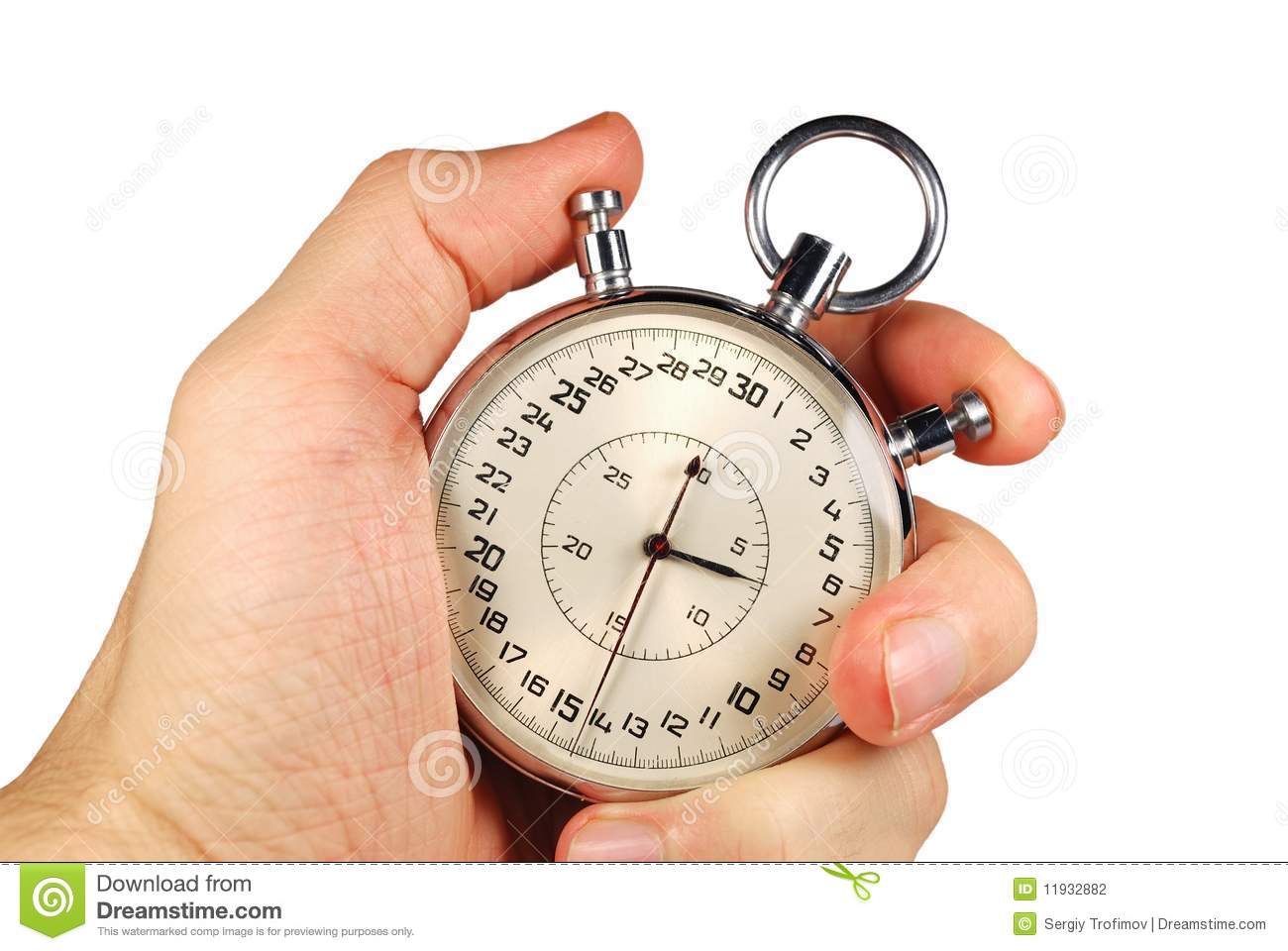Hand And Timer Stock Photography - Image: 11932882