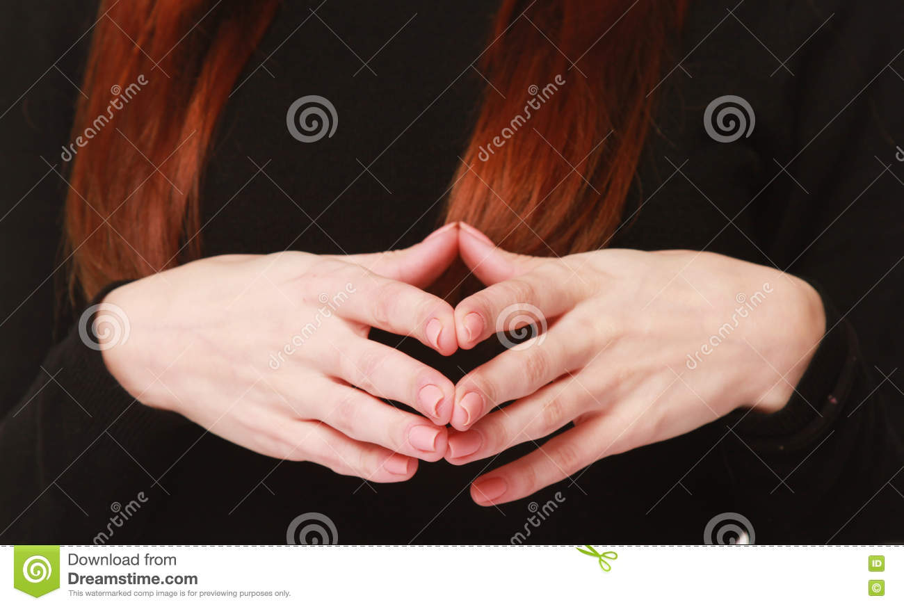 Hand together as a symbol of the process of thinking and reflect royalty free stock photo biocorpaavc