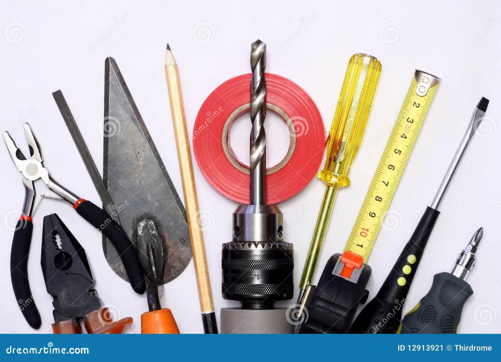 Garden electric tools cartoon vector for Electric hand garden shears