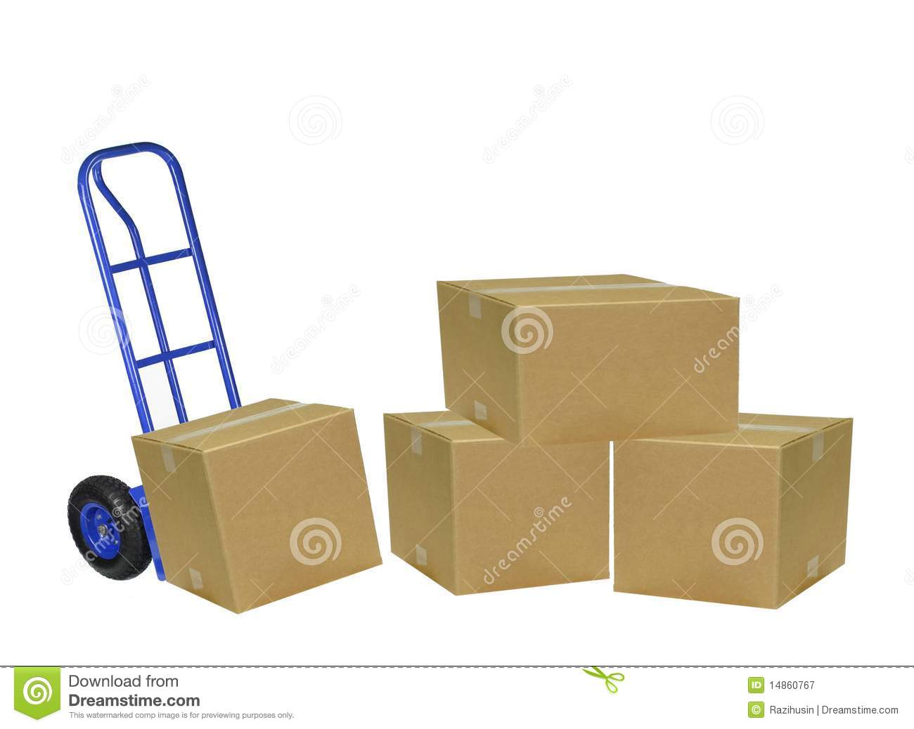 Hand truck mover