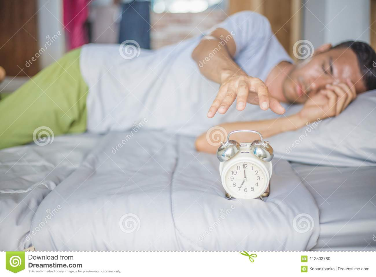 Alarm clock stock photo  Image of beautiful, adult, alarm