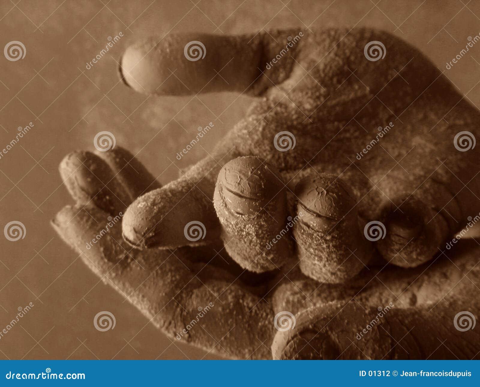 Hand twee