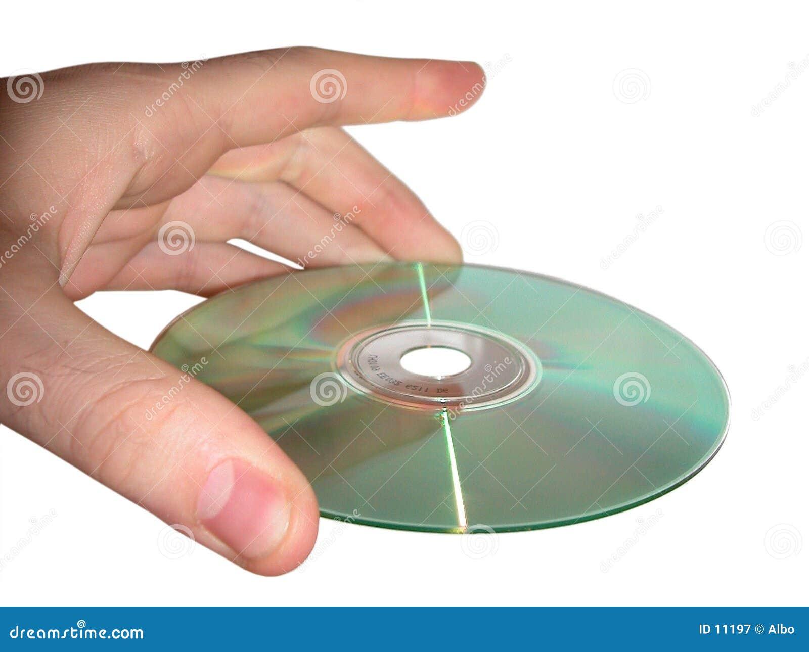 Hand und CD