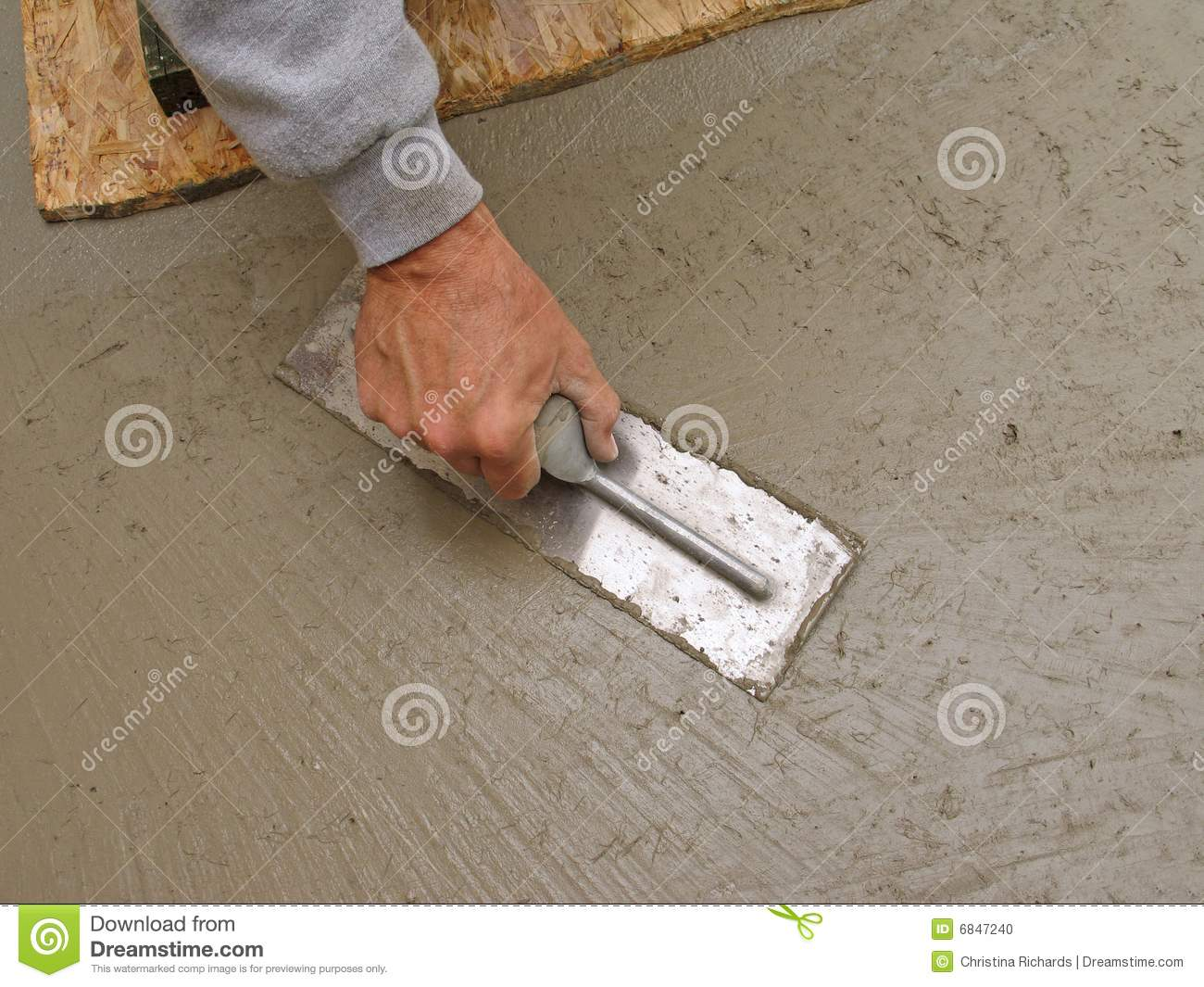 how to cut concrete slab by hand