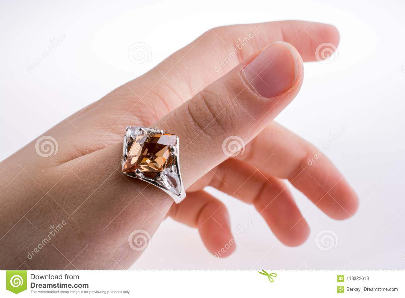 Hand wearing a ring stock photo. Image of jewelry, couple - 118322618