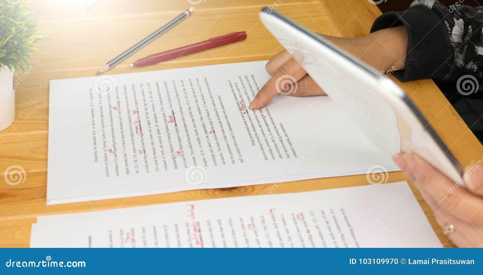 Proofread essay