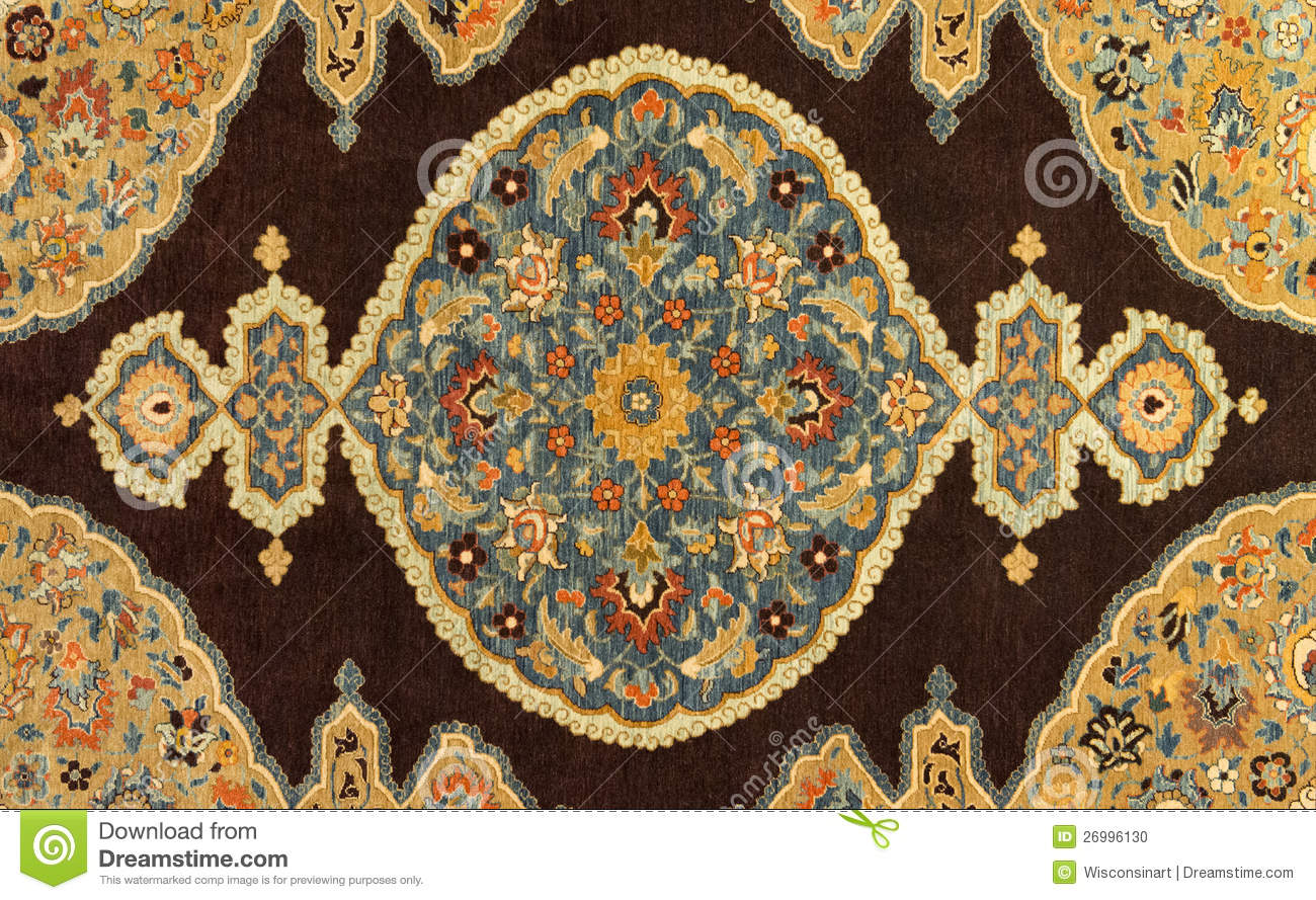 Hand Woven Carpet Background Abstract Design Stock Photo - Image ...