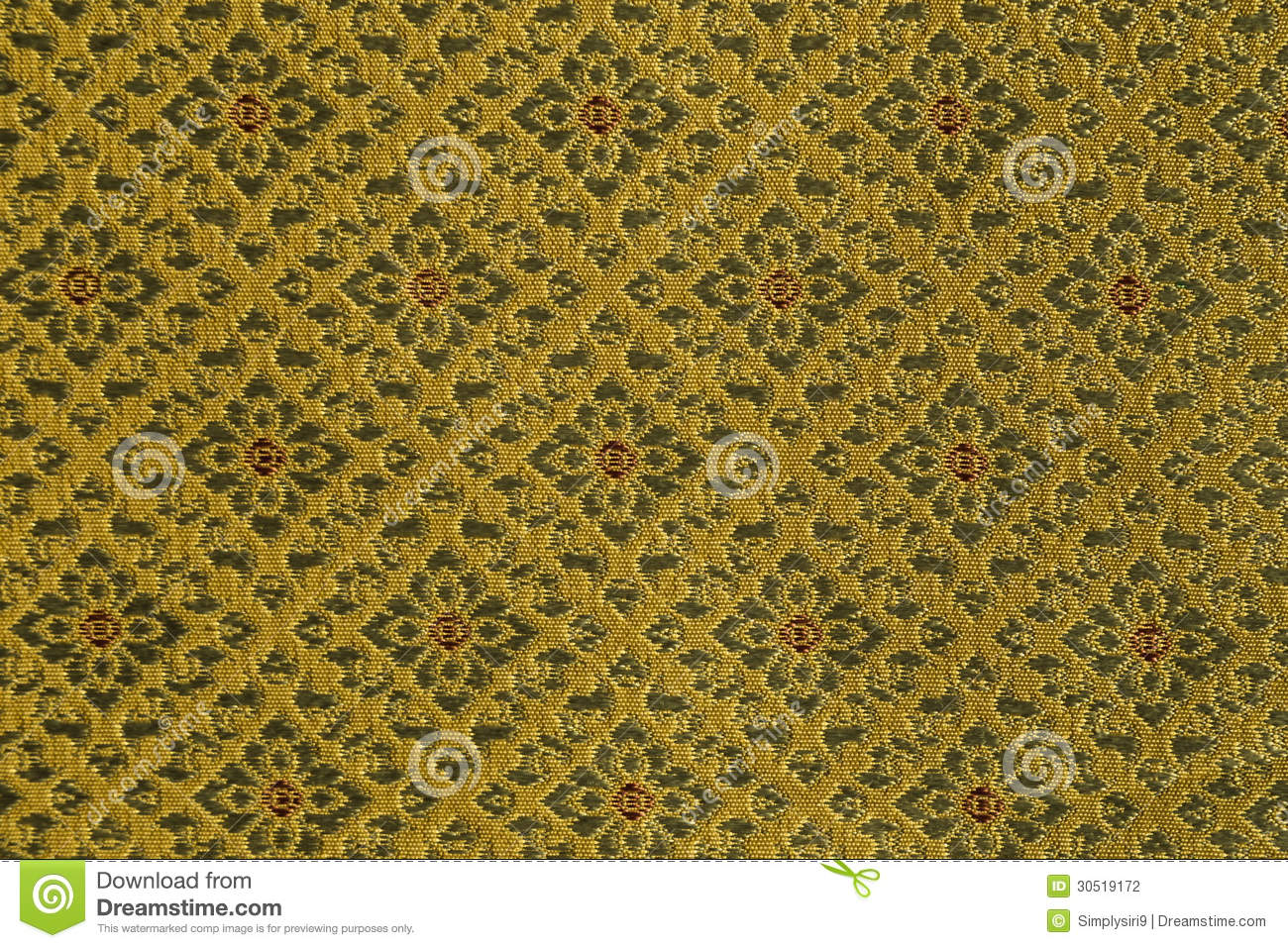 Hand woven traditional thai silk brocade design stock photography image 30519172 - Brocade home decor style ...
