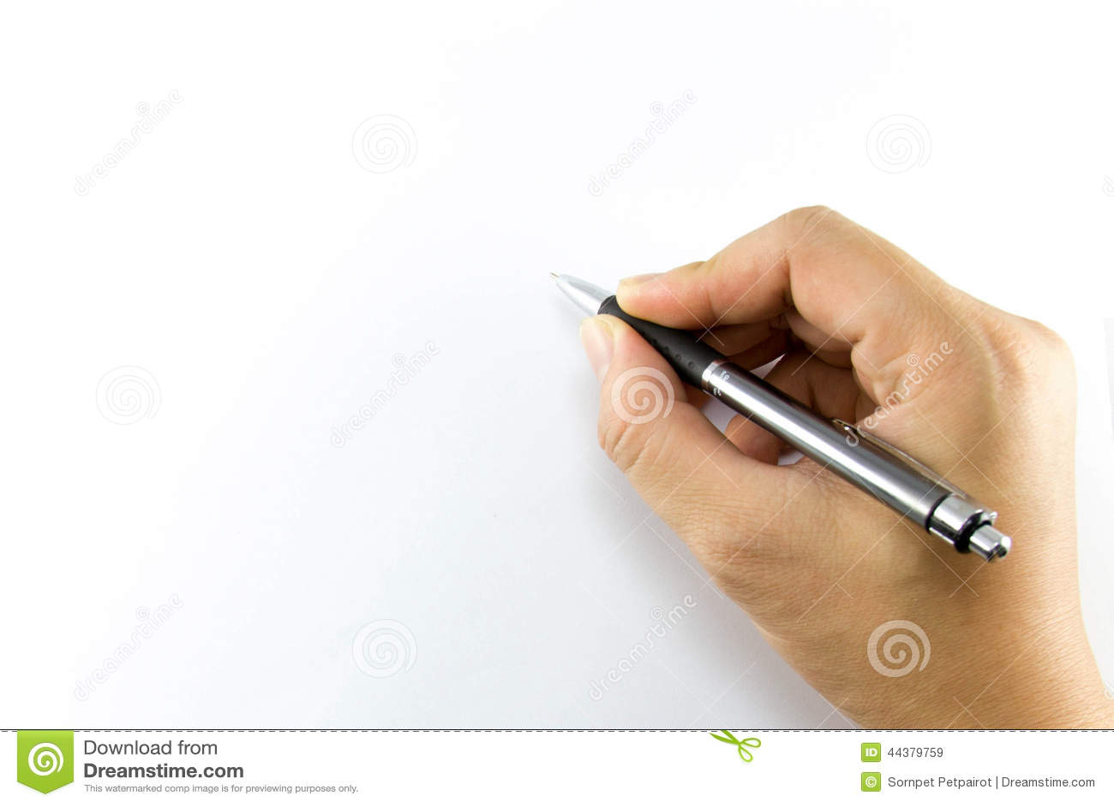 Briefe Mit Der Hand Schreiben : Hand write on notebook stock photo image