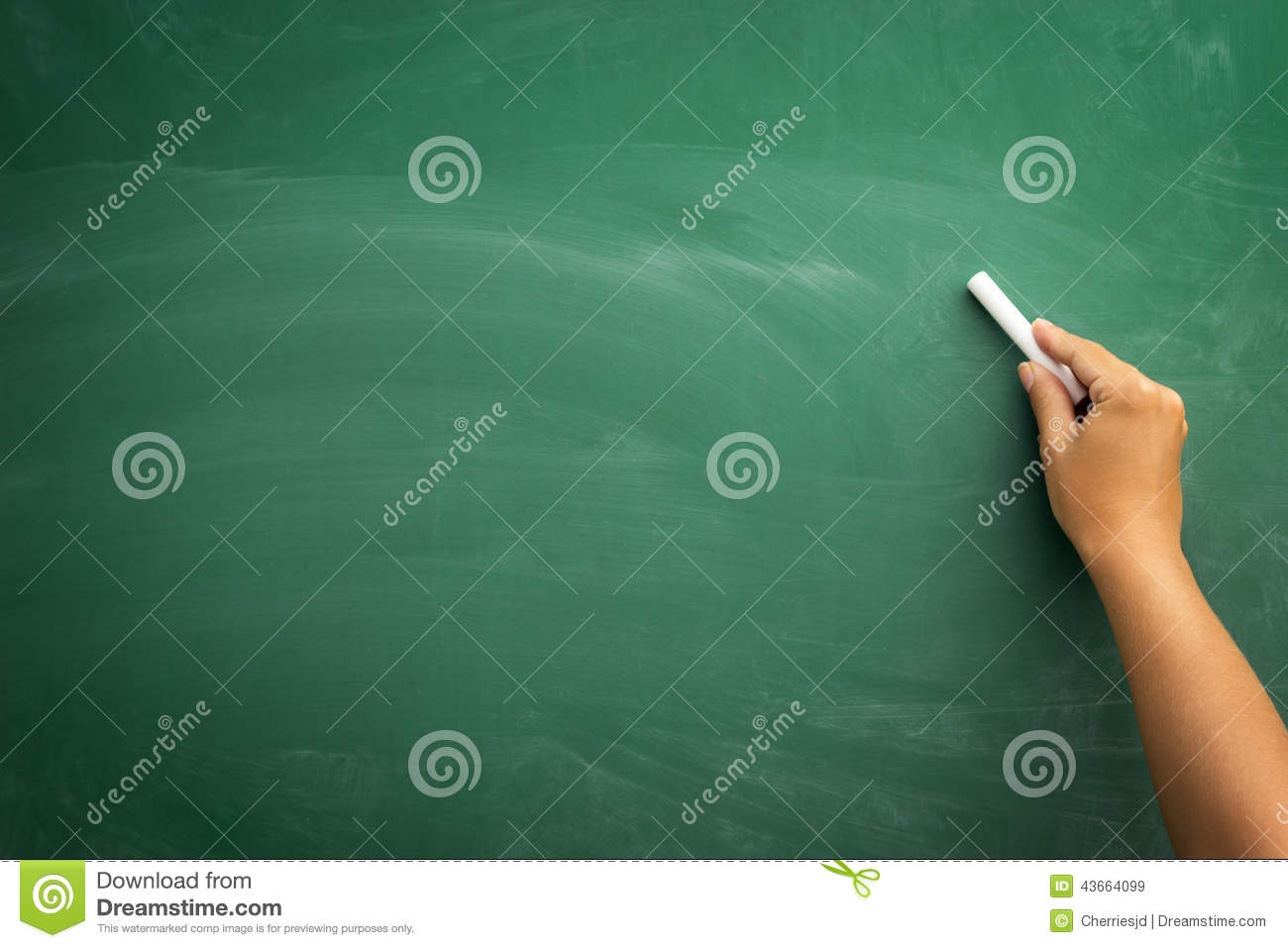 bockbord ritning ~ hand writing on a blackboard stock photo  image 43664099