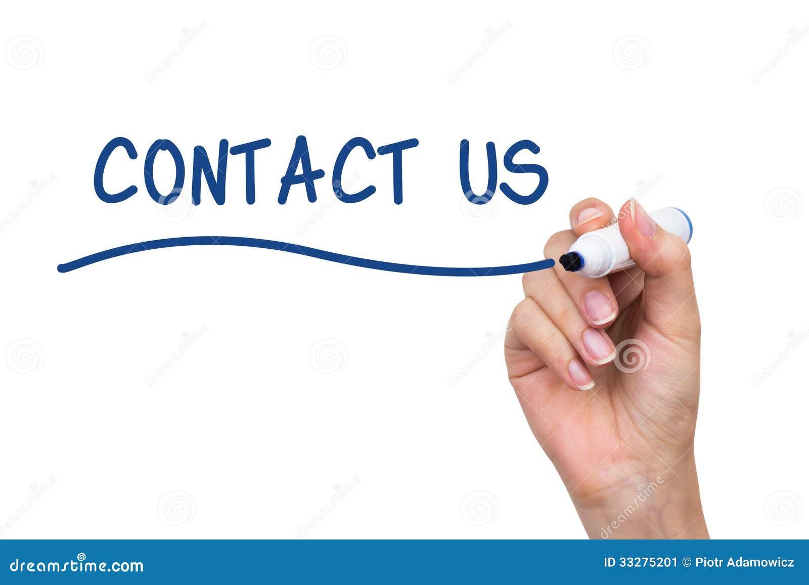 Custom writing contact number