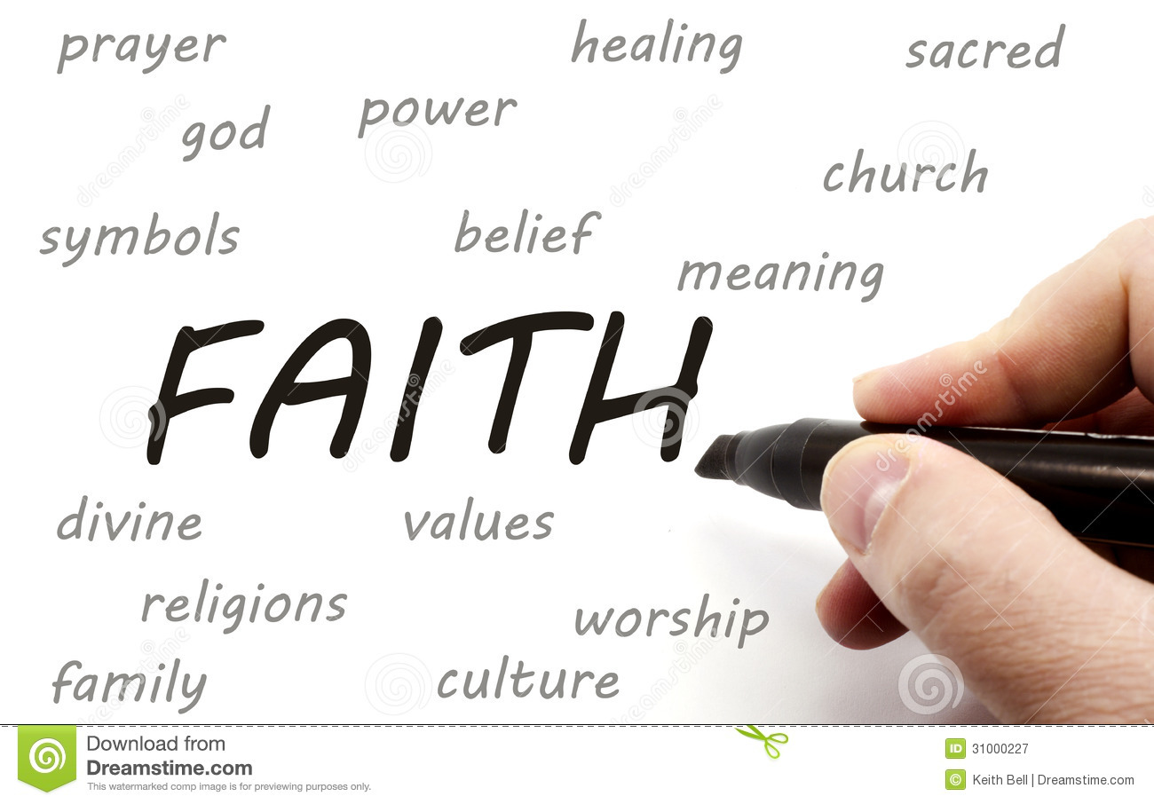 faith writing