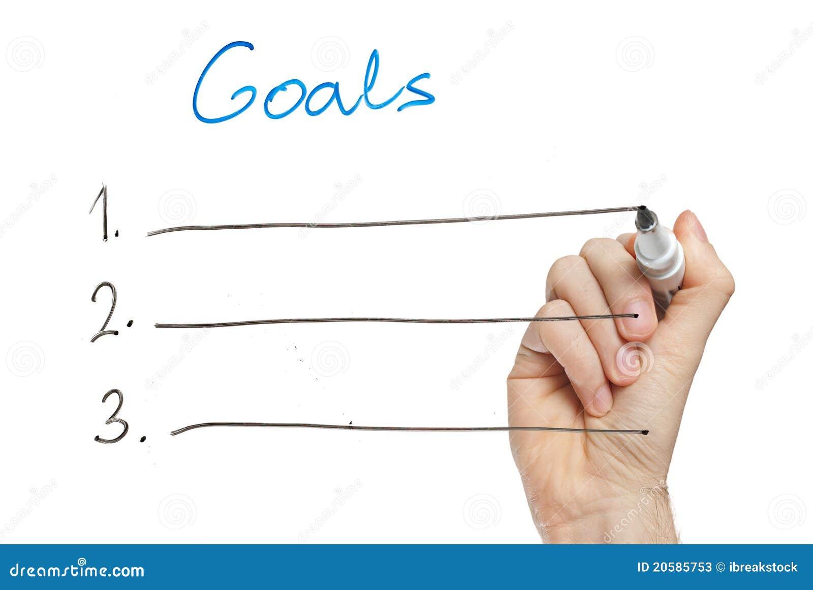 Goal setting essay