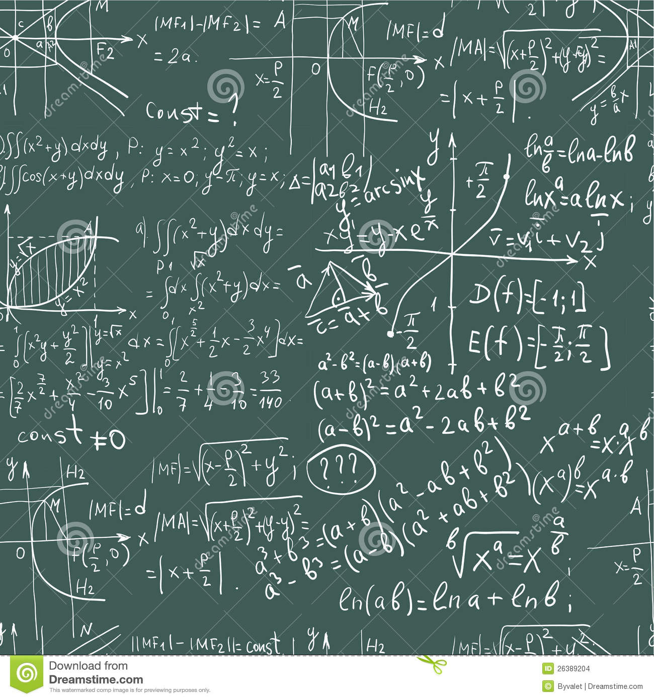 Use equations in a document
