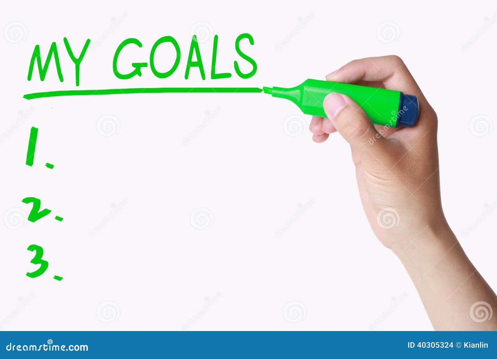 essay dreams goals