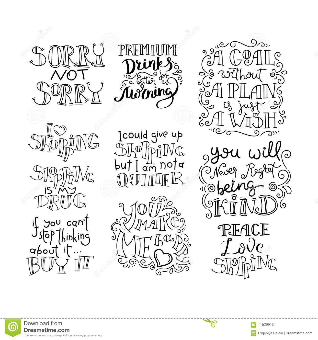 Quotes About Love And Life And Happiness. Hand Written ...