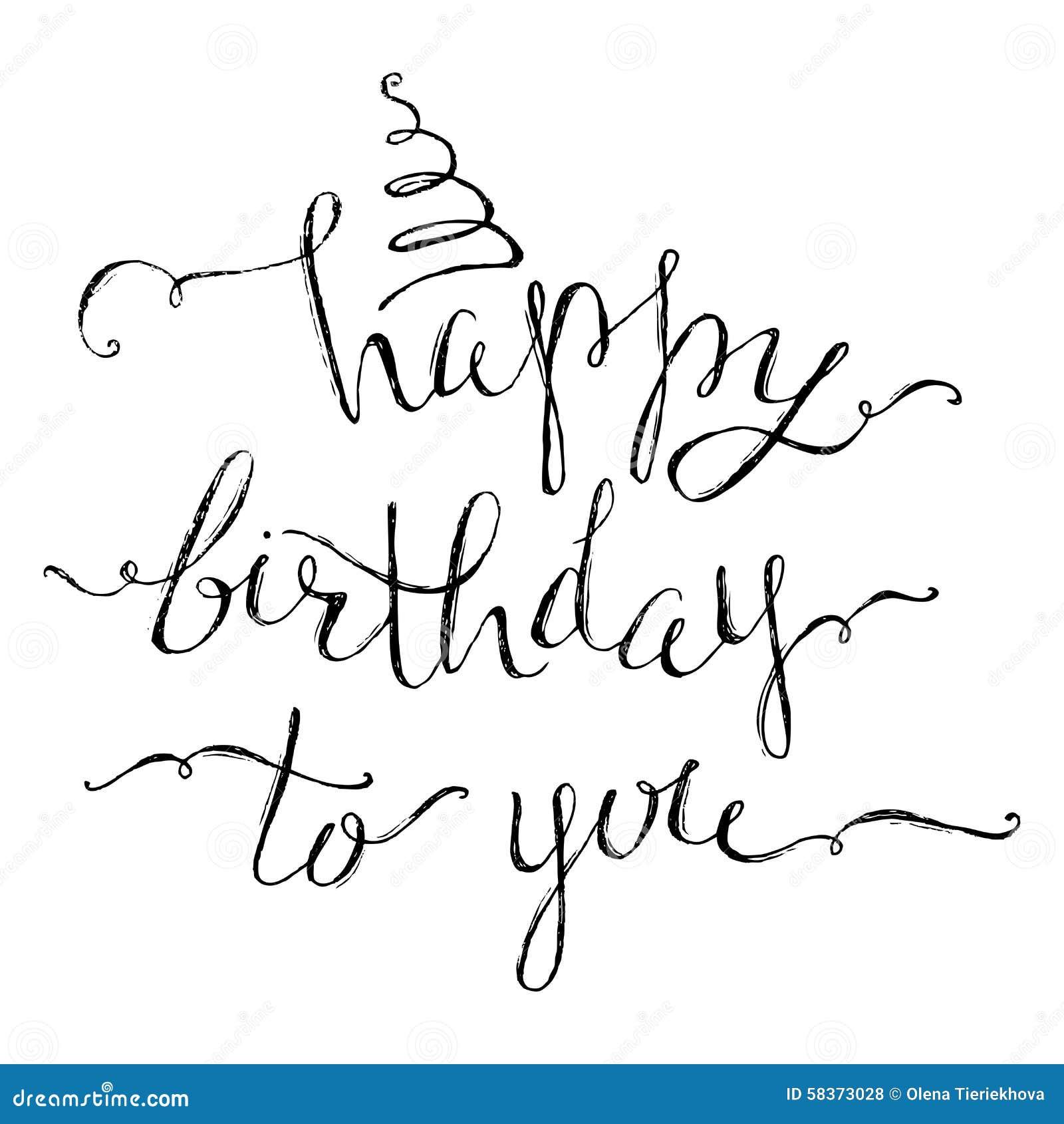 Happy Birthday Stencil For Cake Printable