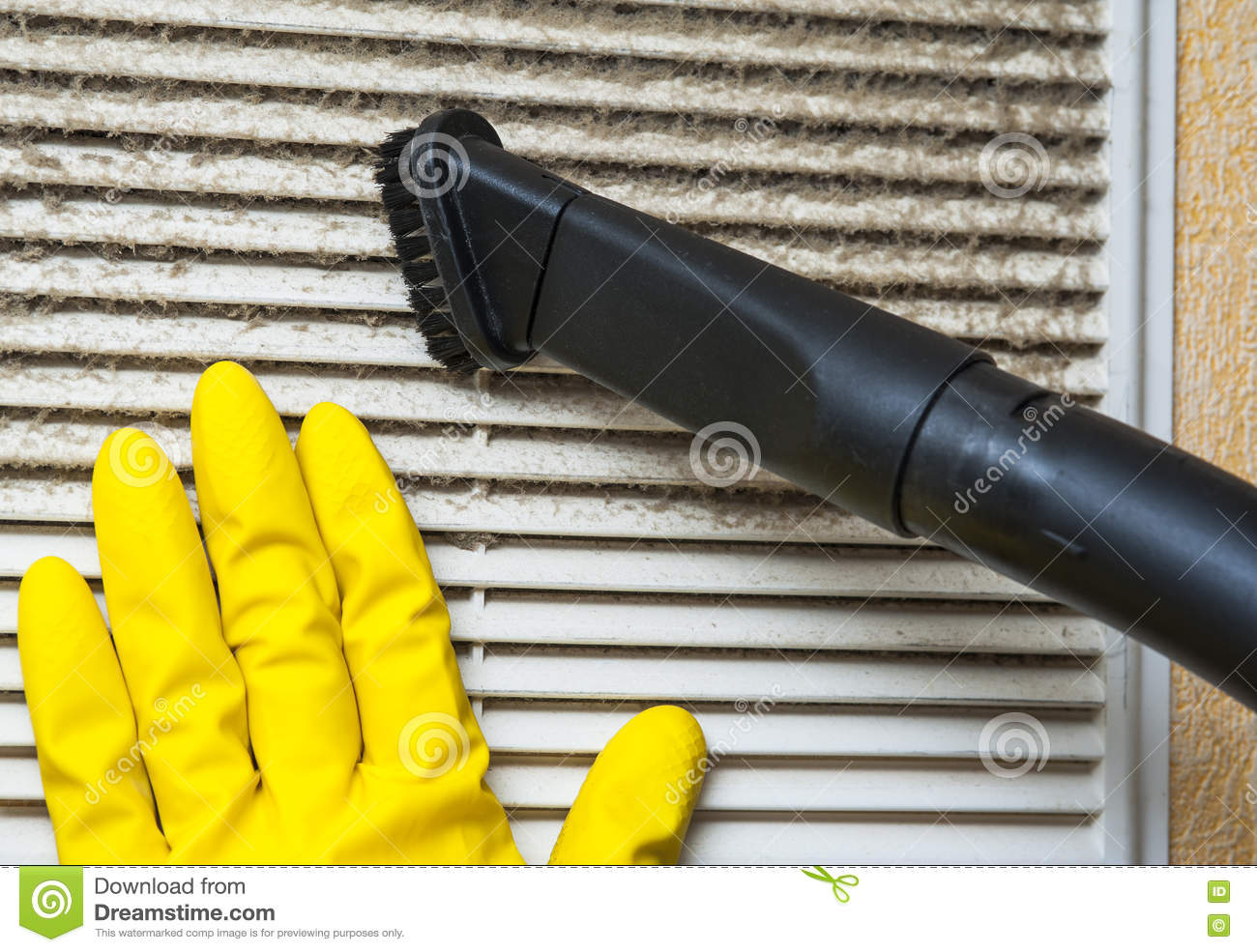 closeup of vacuum cleaner pipe and ventilation grill royalty free stock photography. Black Bedroom Furniture Sets. Home Design Ideas