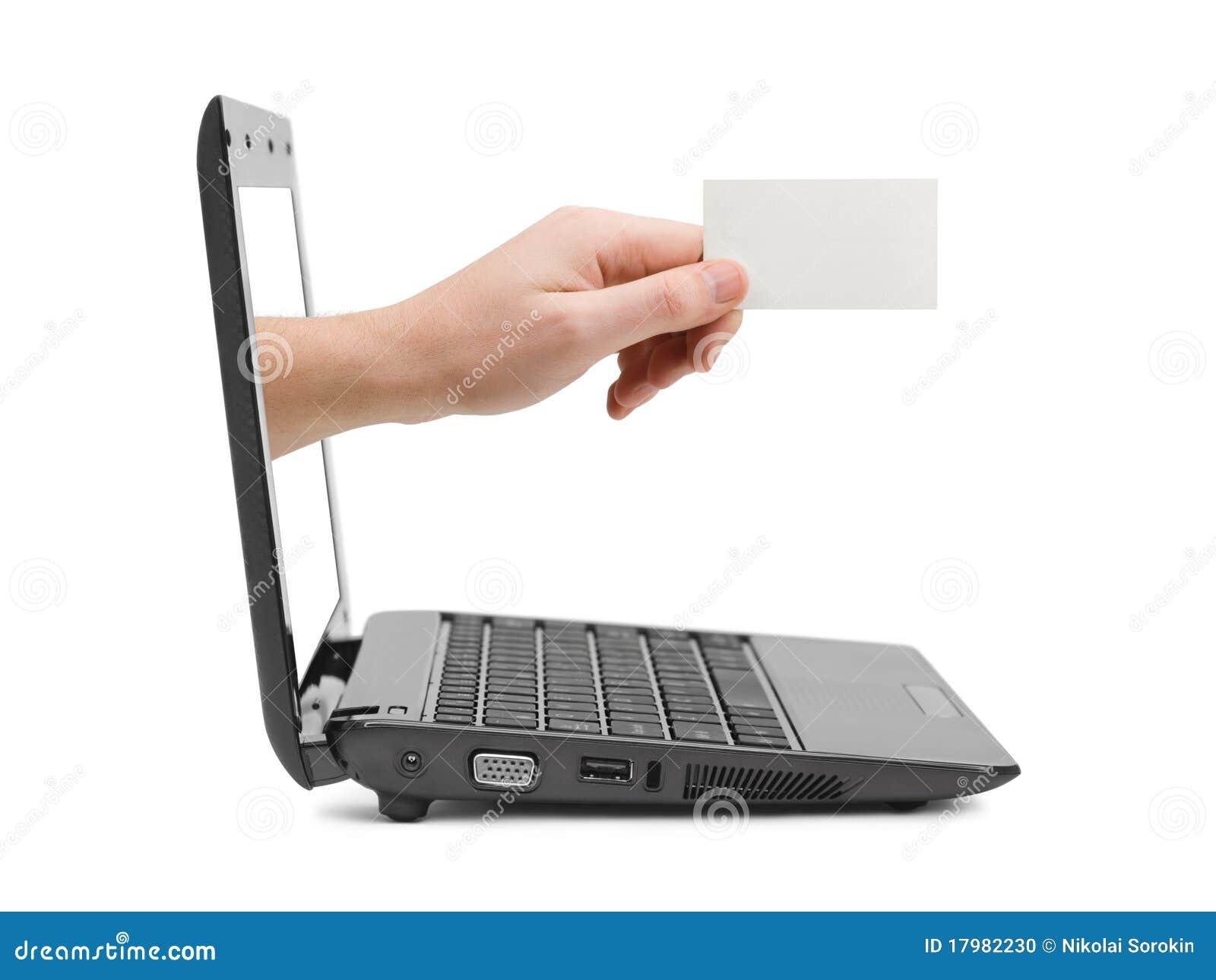 Handanteckningsbok för blankt kort