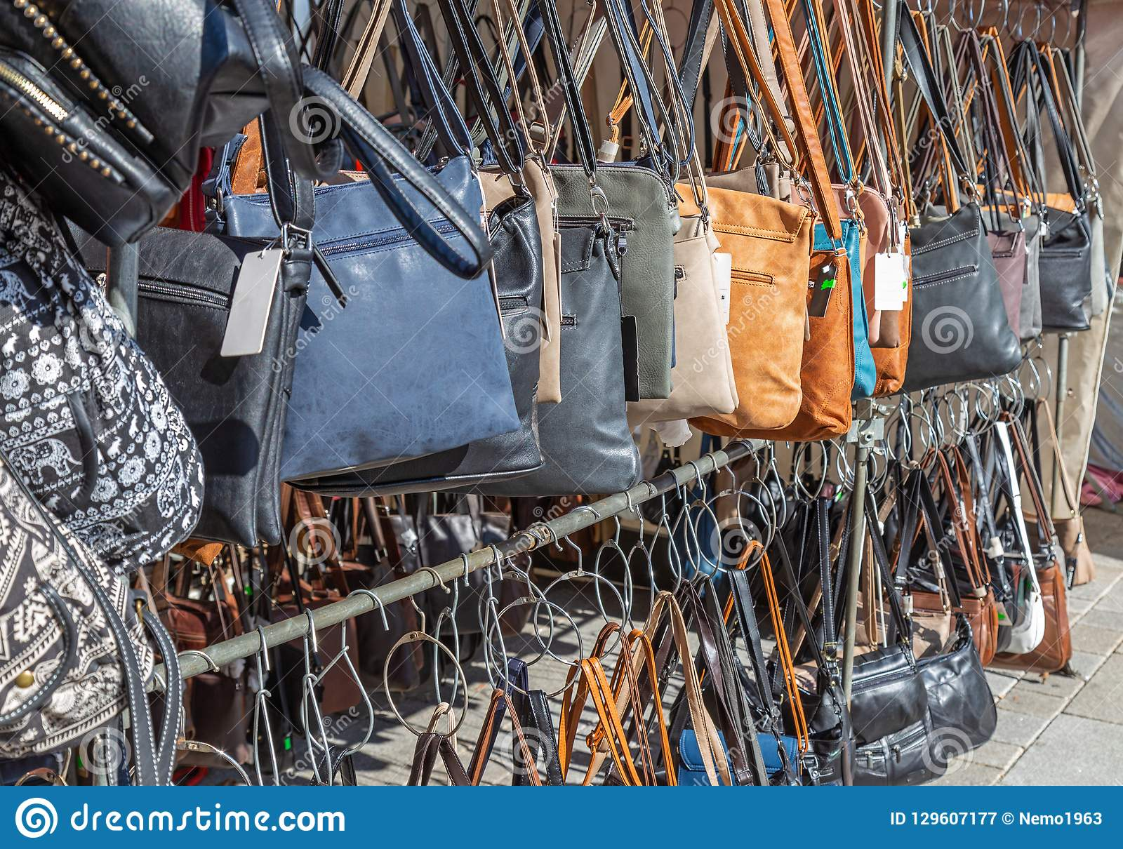3268d053 Handbags for sale stock image. Image of german, germany - 129607177