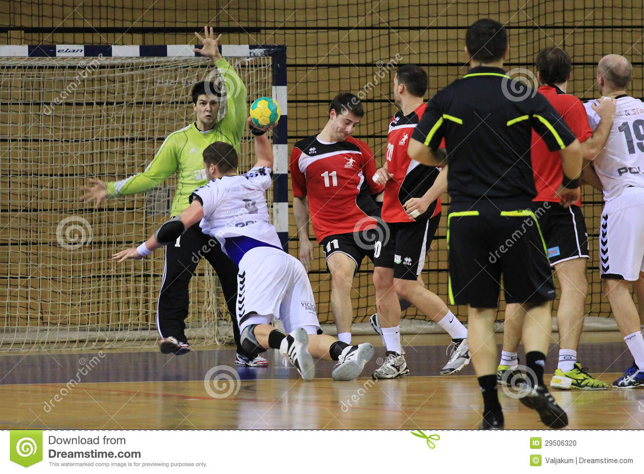 Handbal attac