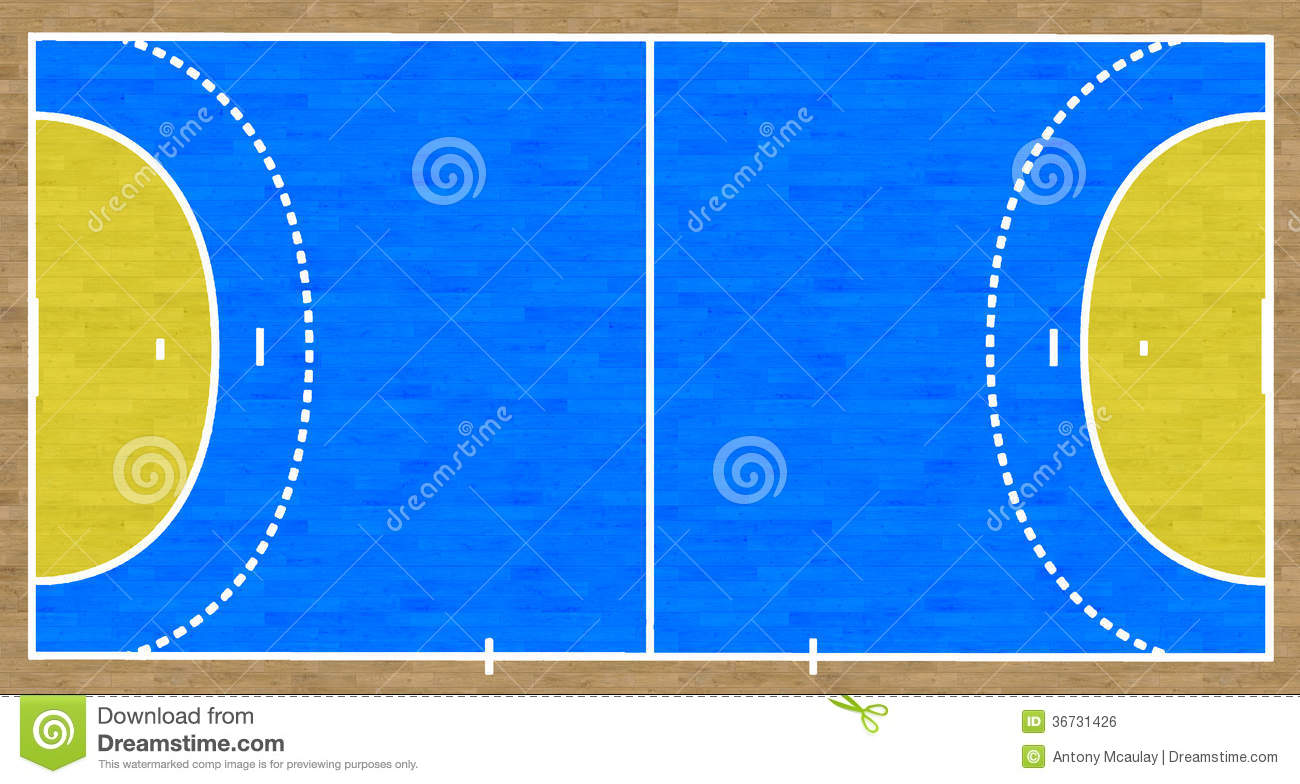 handball court stock illustration illustration of game. Black Bedroom Furniture Sets. Home Design Ideas