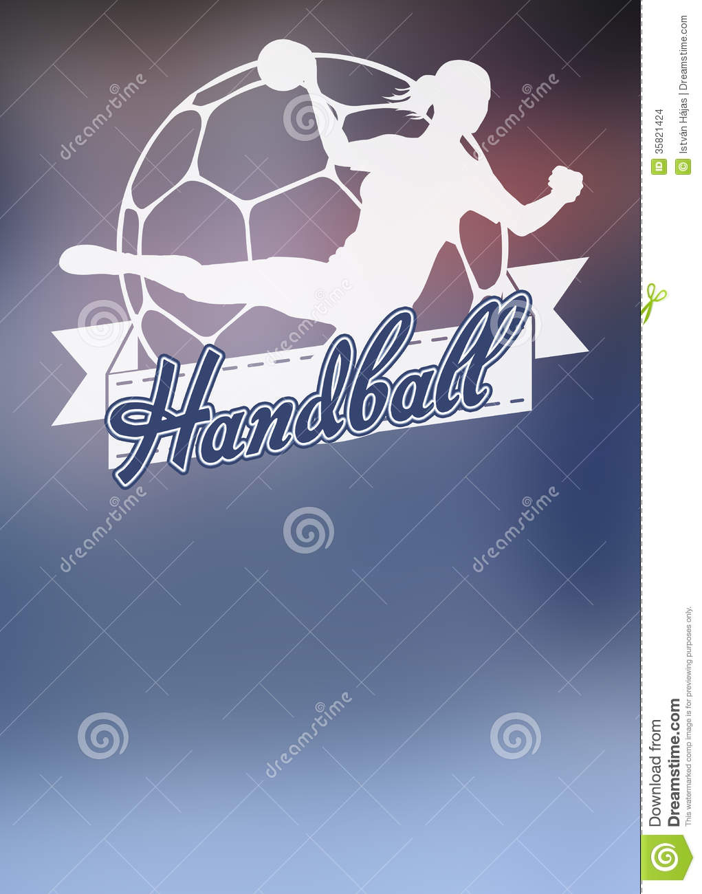 Handball Grill Background Stock Images - Image: 35821424