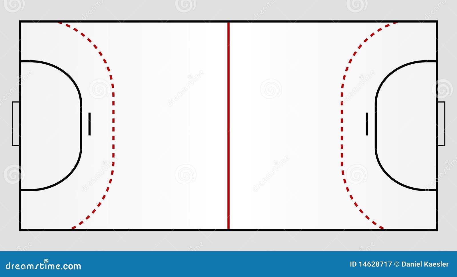 Handball Ground Royalty Free Stock Photography - Image: 14628717