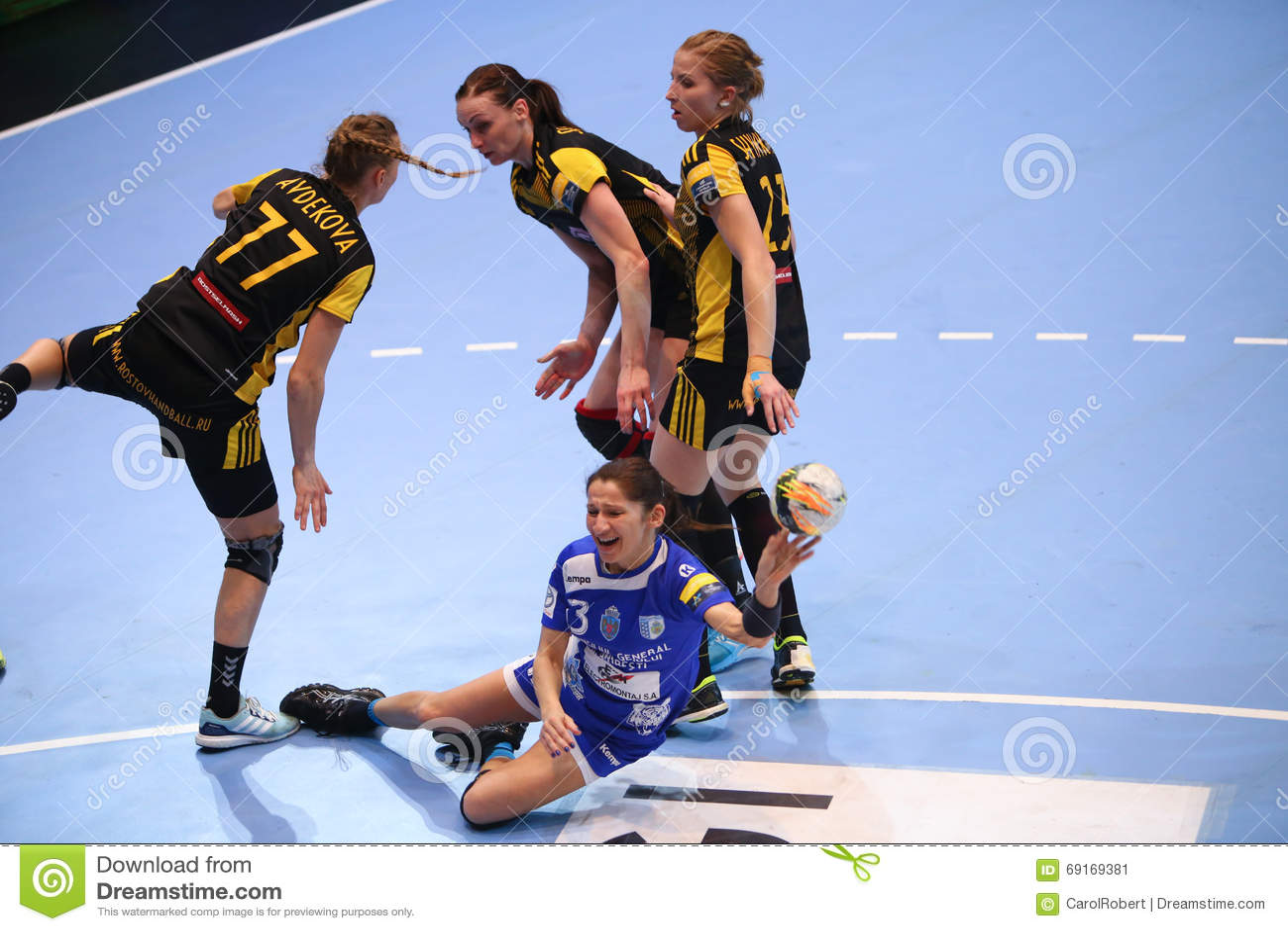 woman handball champions league