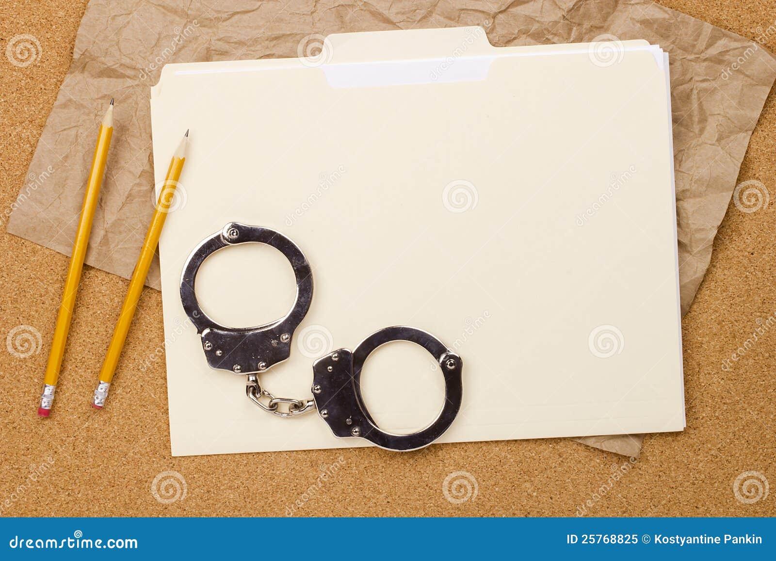 Handcuffs en Omslag
