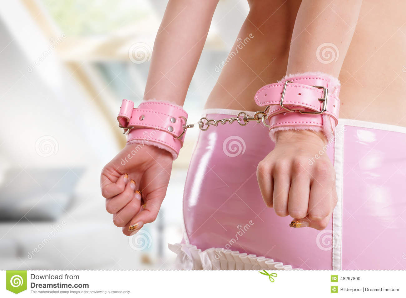 Handcuffs Stock Photo - Image: 48297800