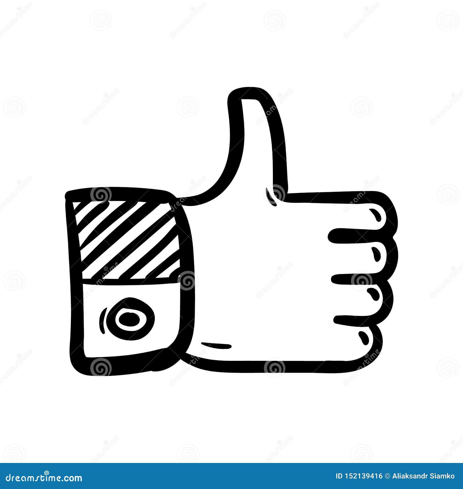 Handdrawn als krabbelpictogram Hand getrokken zwarte schets tekensymbool Genomen in Genua, Itali? Witte achtergrond Ge?soleerde V