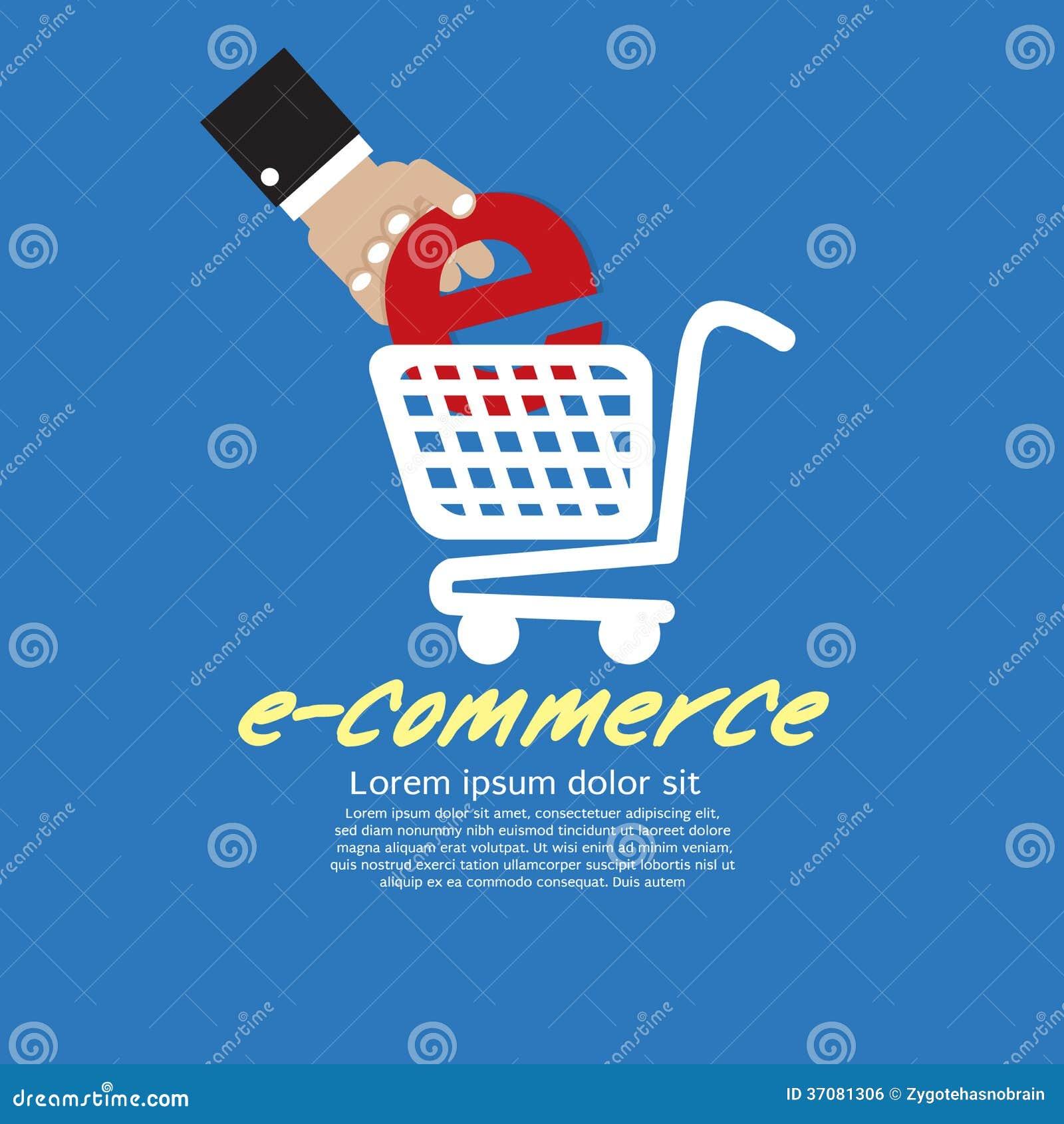Download Handel elektroniczny. ilustracja wektor. Ilustracja złożonej z retail - 37081306