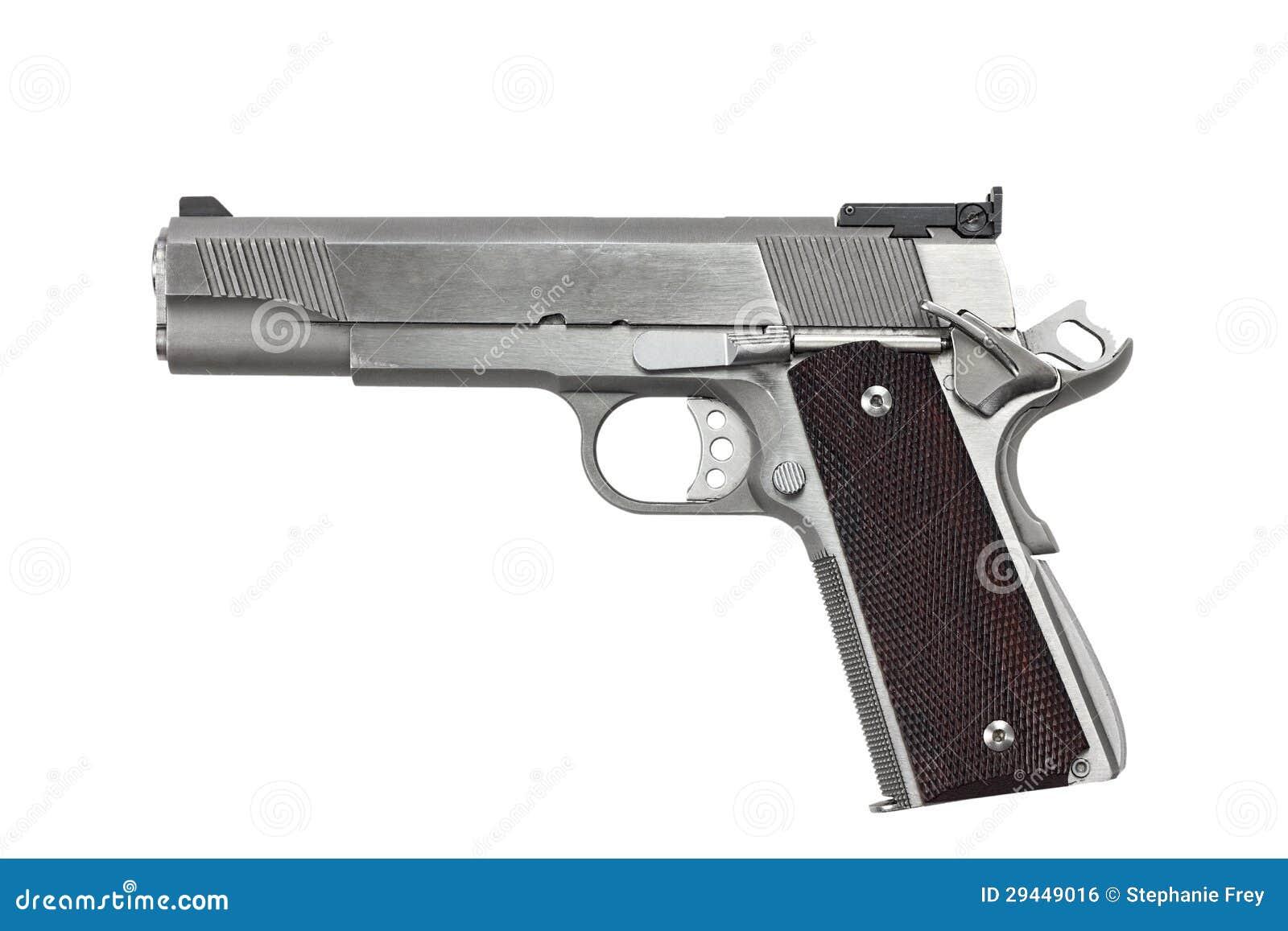 Handeldvapen för 45 kaliber