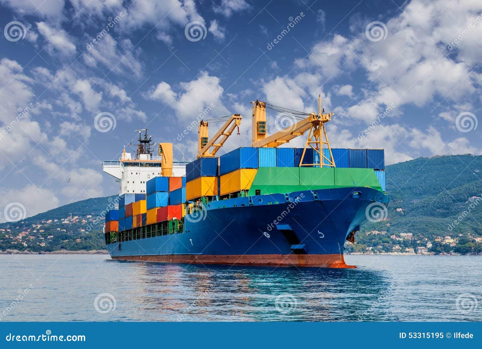 Handelscontainerschiff
