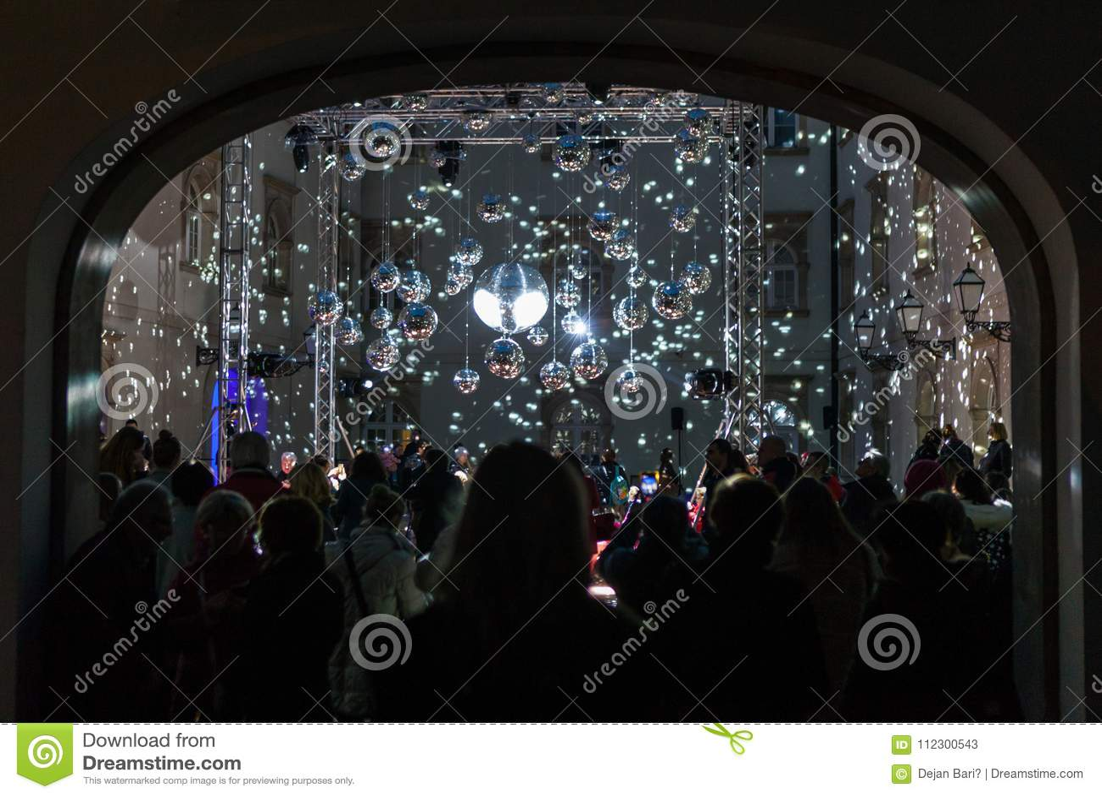 """16. Handelszentrum 2018 € Zagrebs, Kroatien """"Festival des Lichtes in Zagreb"""
