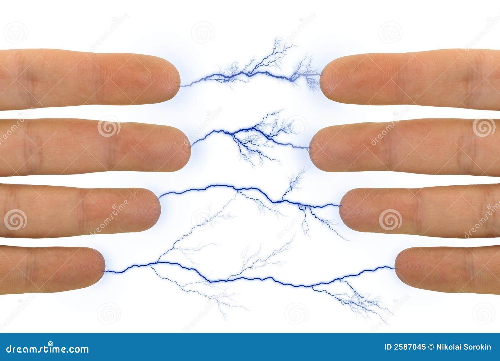 Handen en bliksem