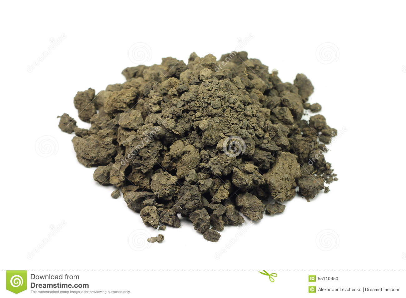 A handful of clay soil stock photo image of handful for What 5 materials make up soil