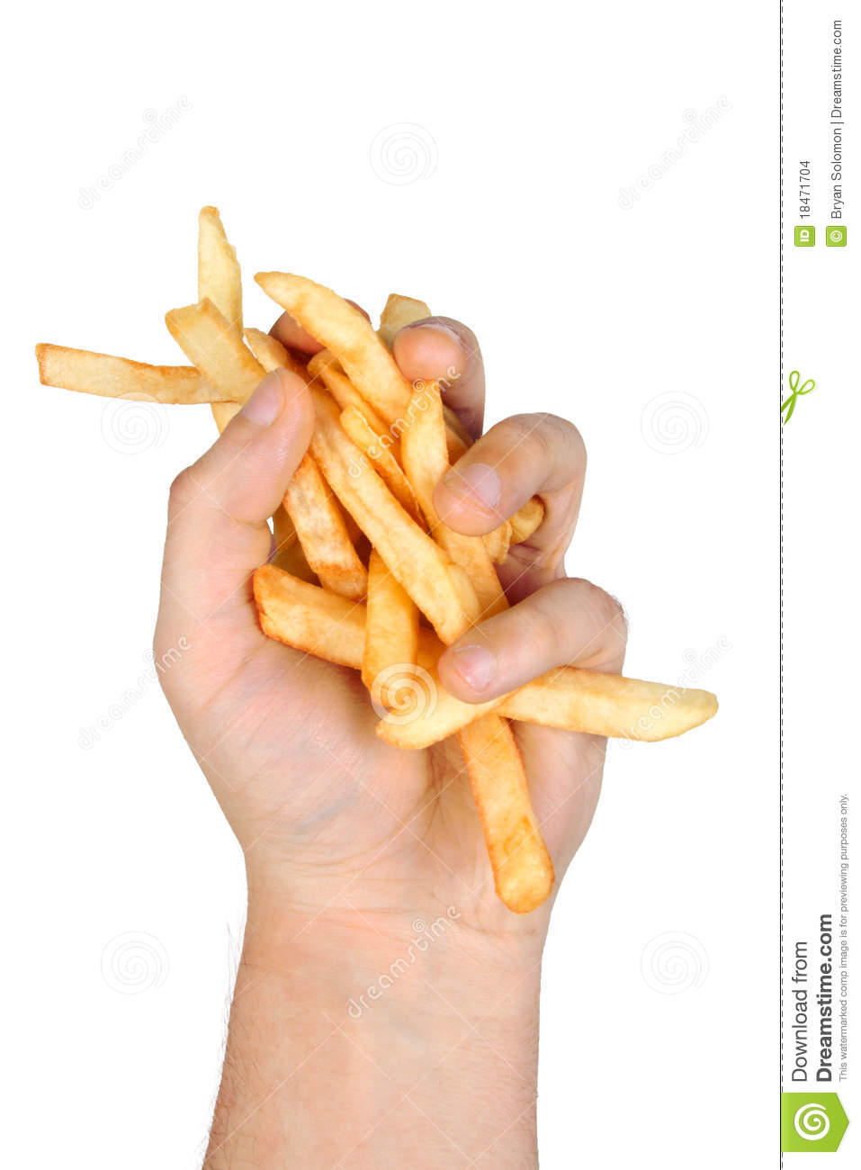how to say a handful in french