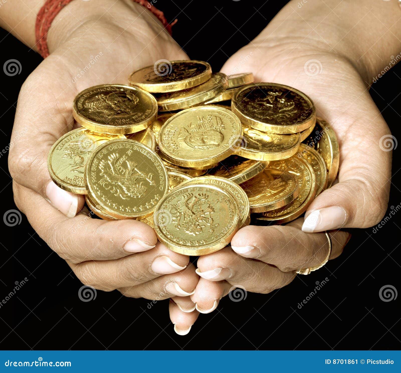 Handfull of gold
