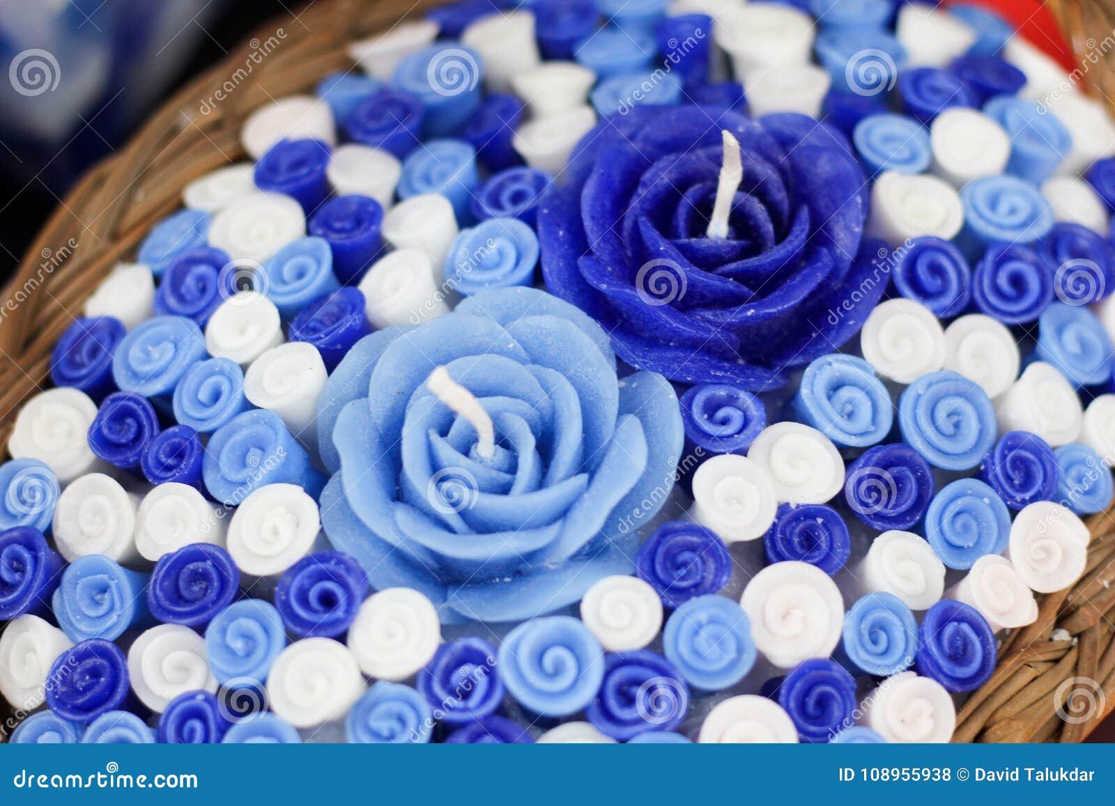 Handgemachte Kerze