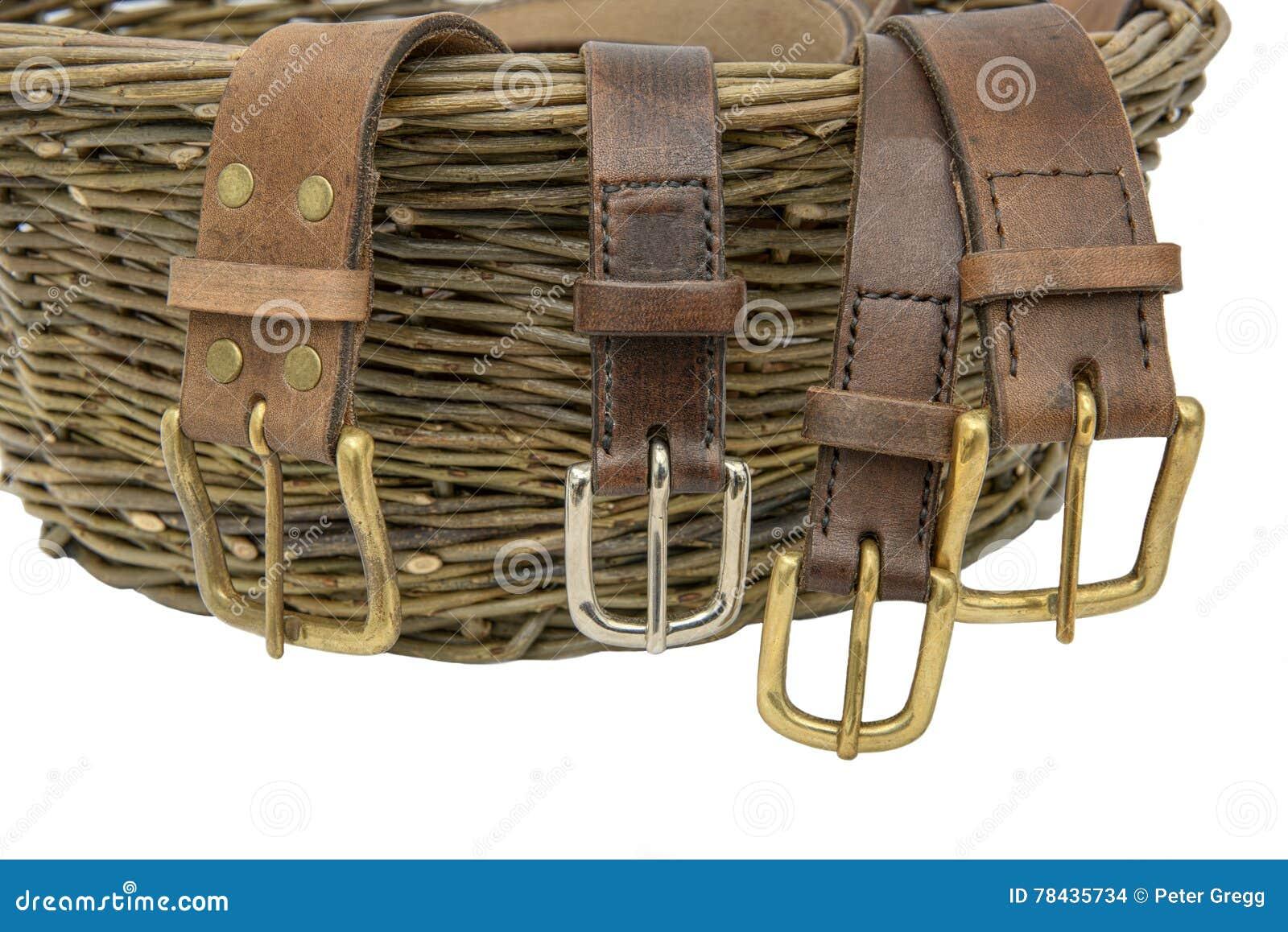 Handgemachte Ledergürtel Stockfoto Bild Von Kunstfertigkeit 78435734