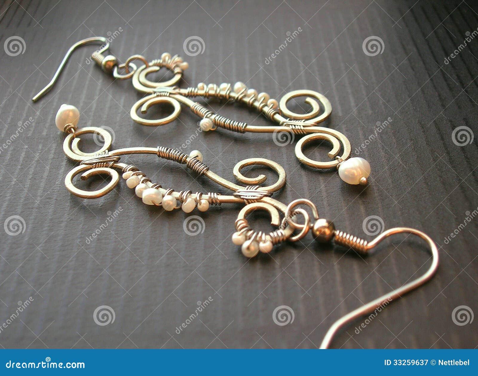 Handgemachte Ohrringe