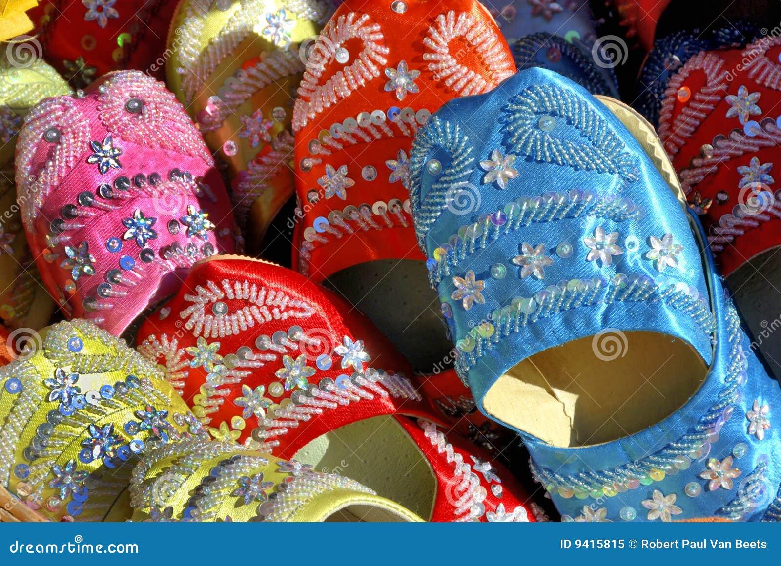Handgjorda moroccan skor