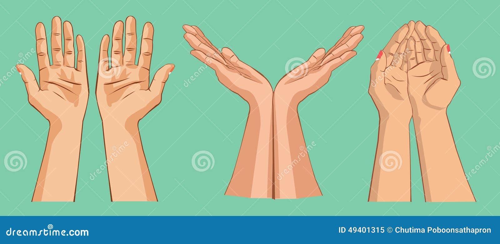Download Handholding etwas stock abbildung. Illustration von mädchen - 49401315