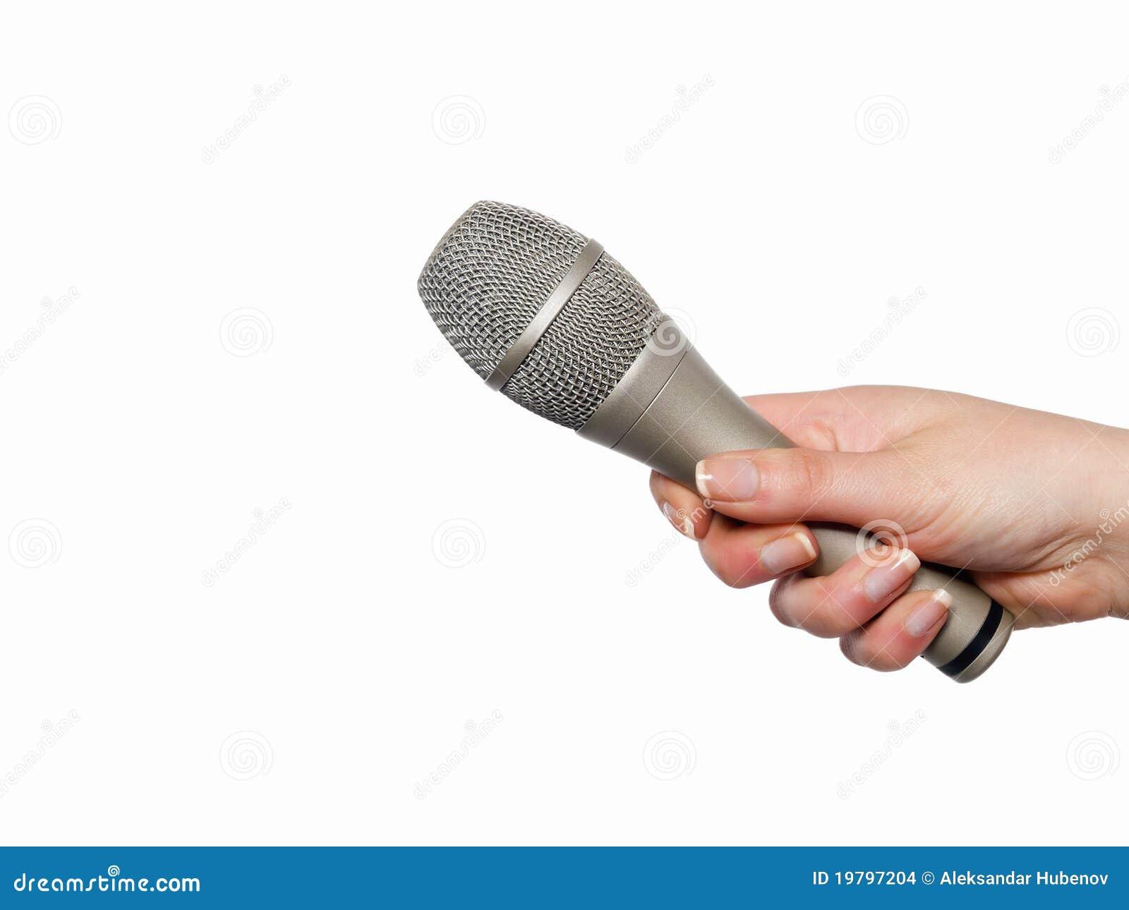 Handholdingmikrofon
