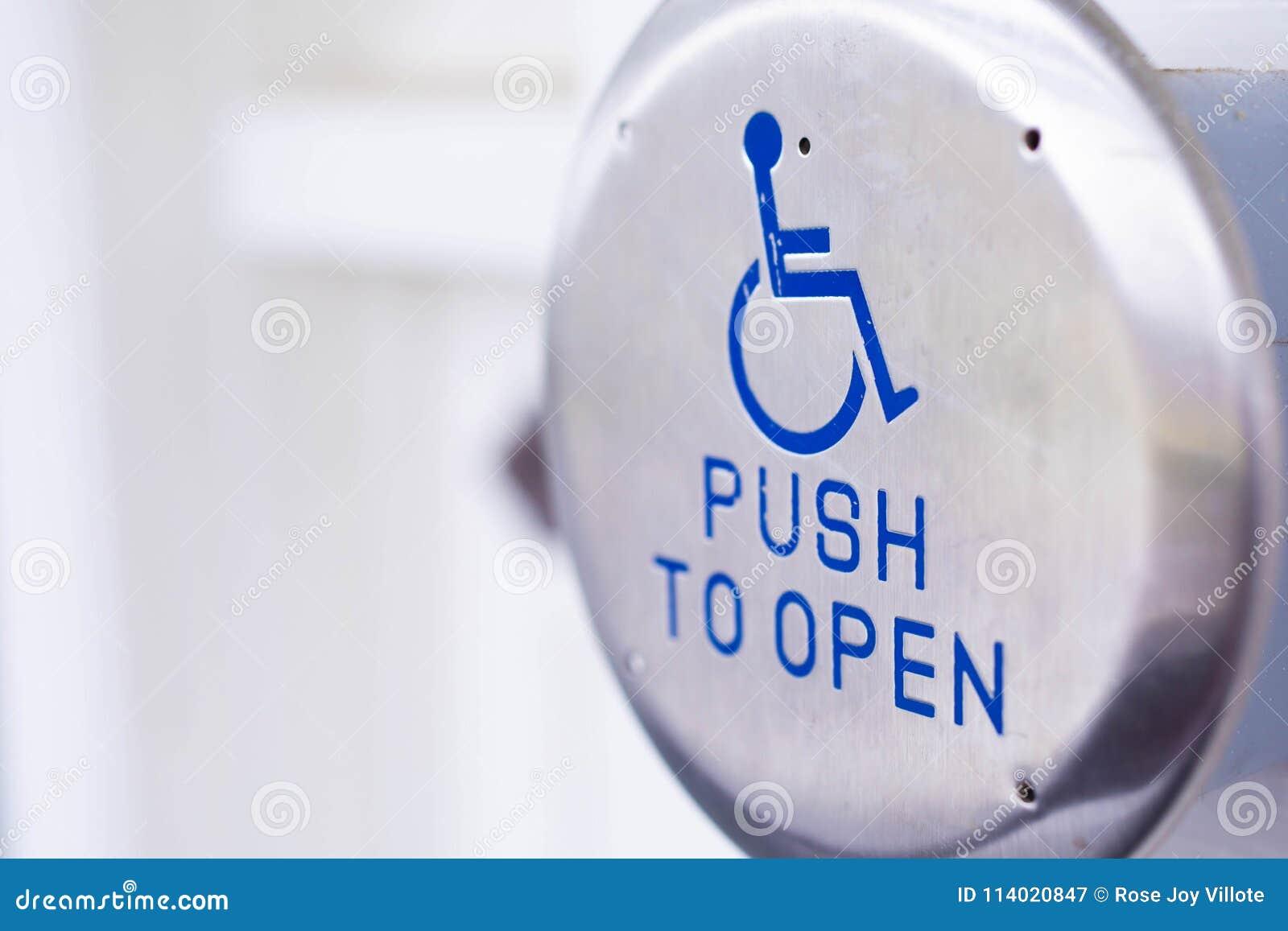 Handicap Accessible Door Opener